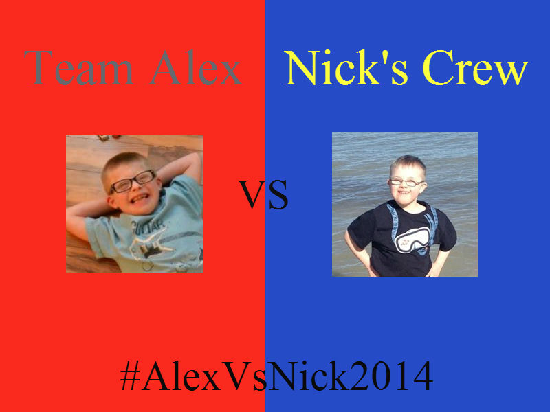Team Alex vs Nick's Crew