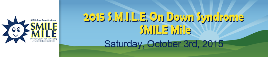 SMILE On Down Syndrome Walk