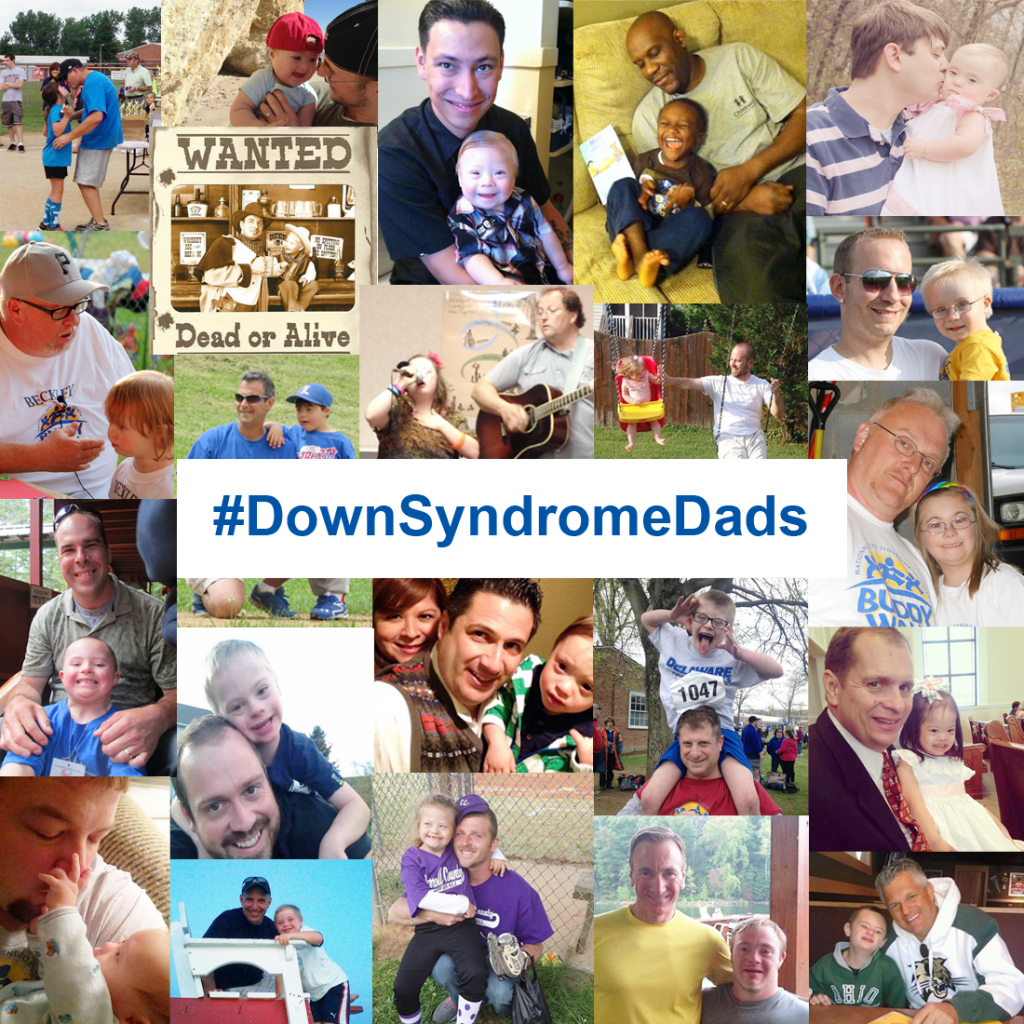Great Down syndrome DADS Contest Picture