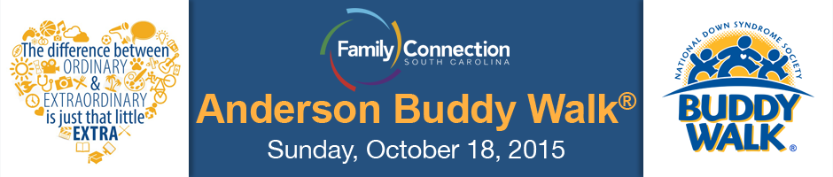 Family Connection Anderson Buddy Walk