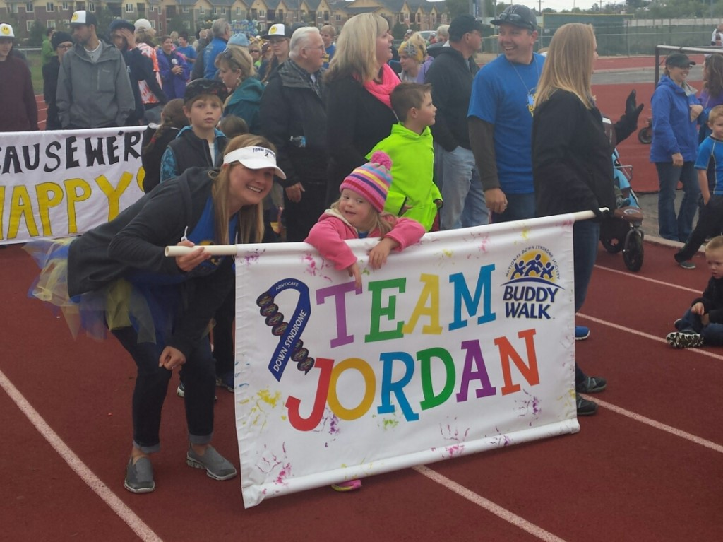 Celebrating Team Jordan at Reno Buddy Walk