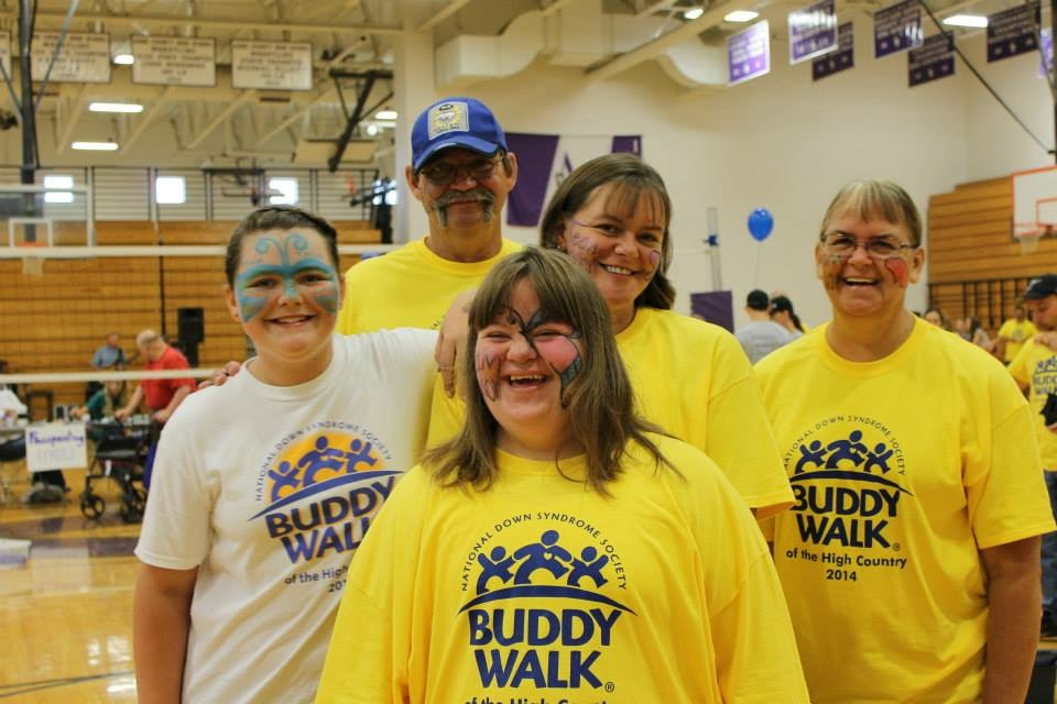 Buddy Walk of the High Country Blog Team Picture