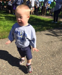 Carson participates in the DSAM Step Up Walk