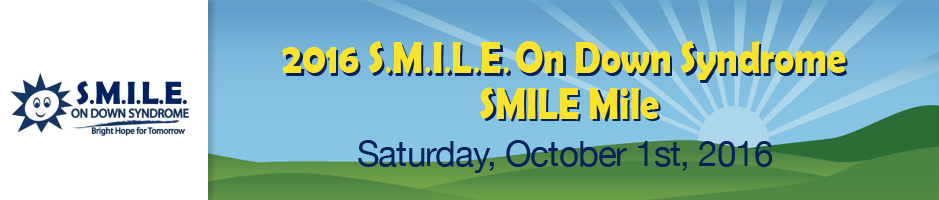 SMILE On Down Syndrome Walk