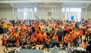 Toledo Buddy Walk Participants Gather for Photo