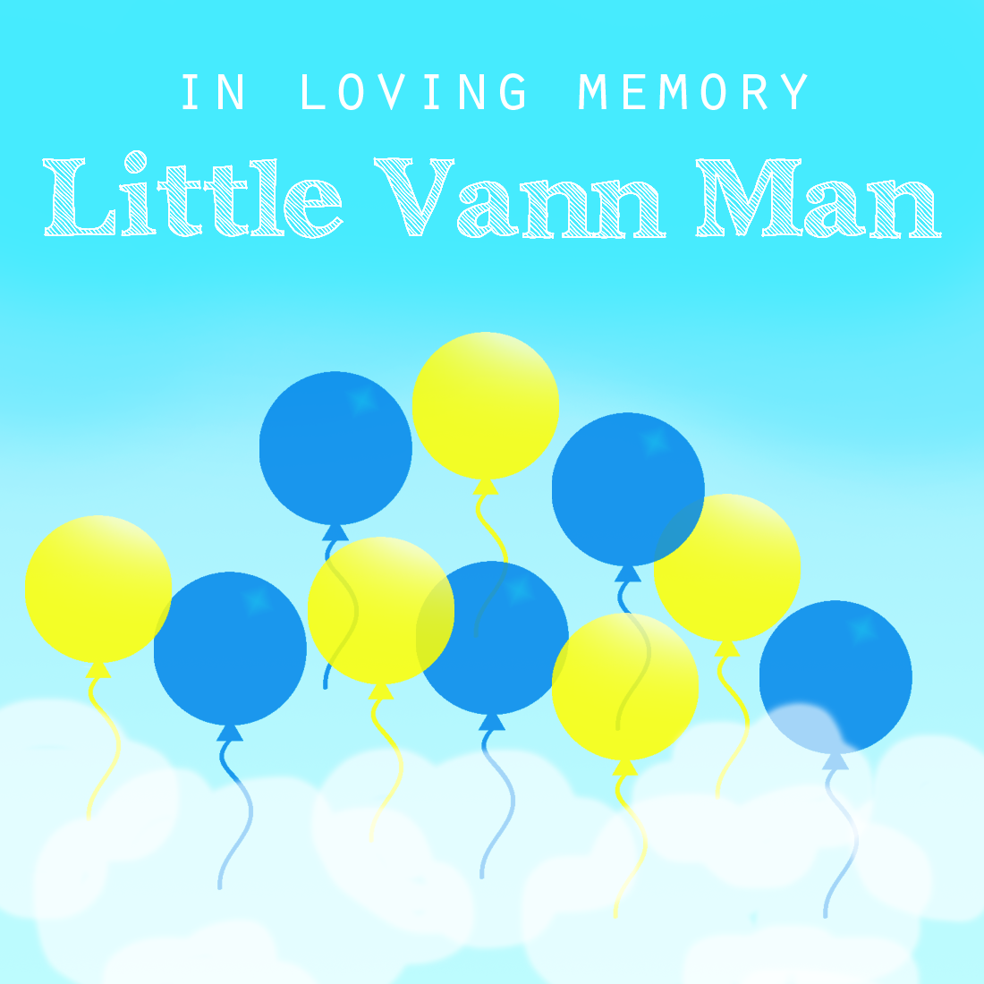 Little Man balloons