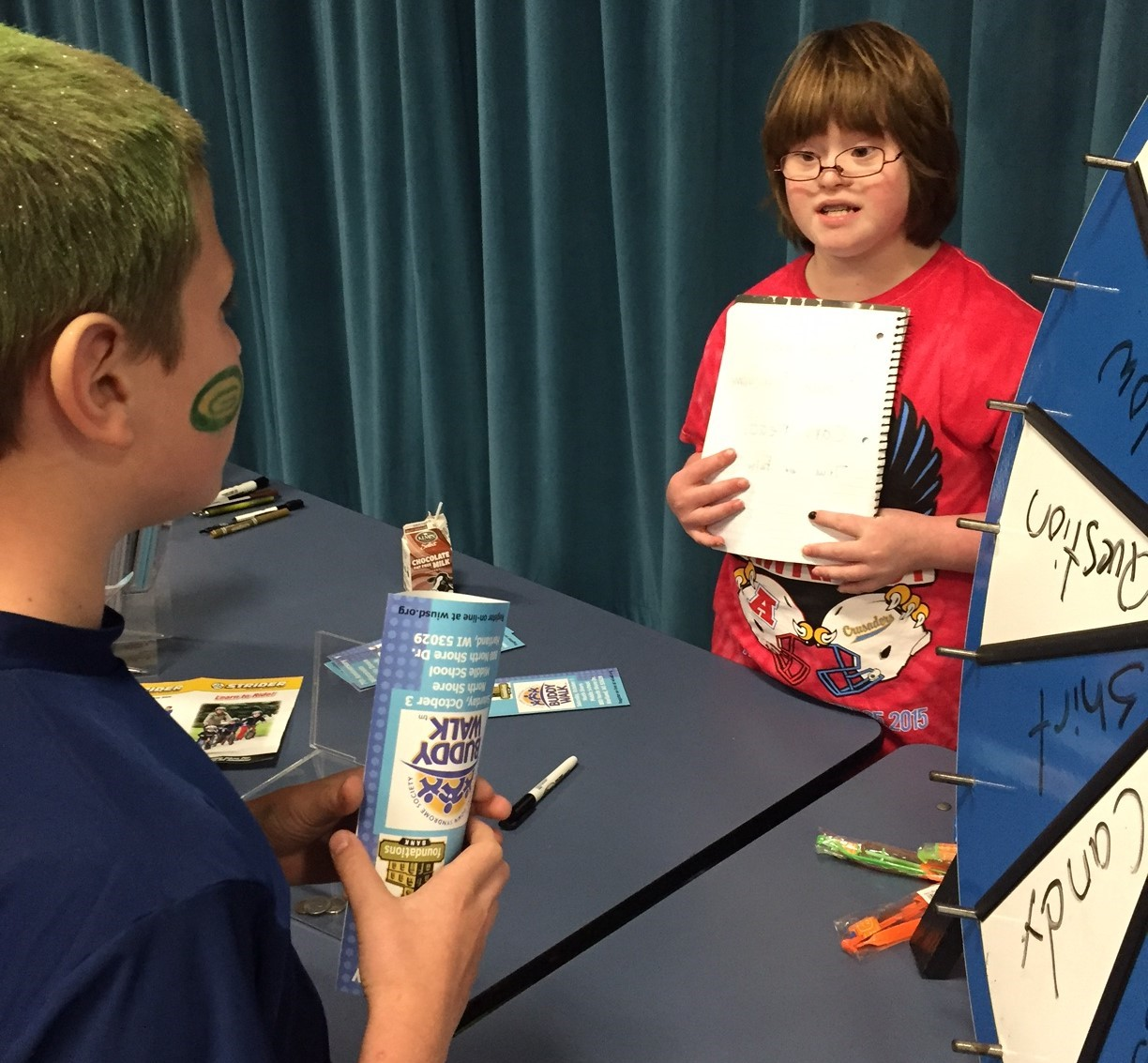 Students learn about Down syndrome