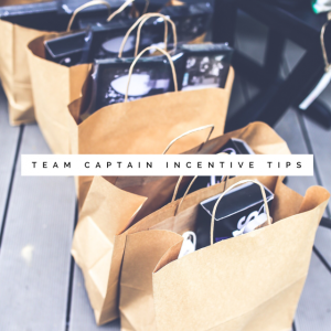 Team Captain Incentive Tips