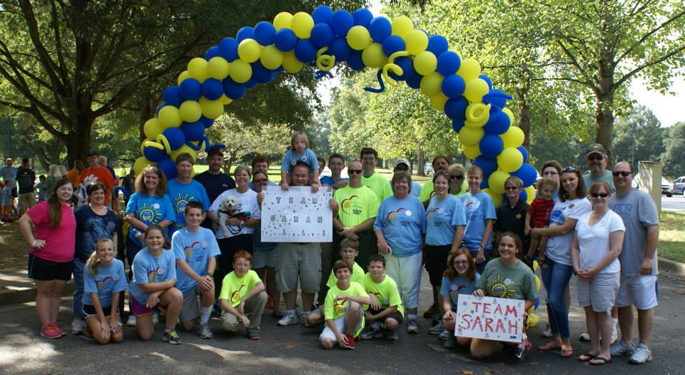 Team Sarah Rocks Participates in the Buddy Walk