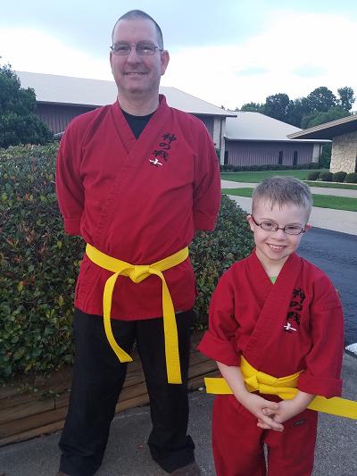 ETDSG Riley Yellow Belt