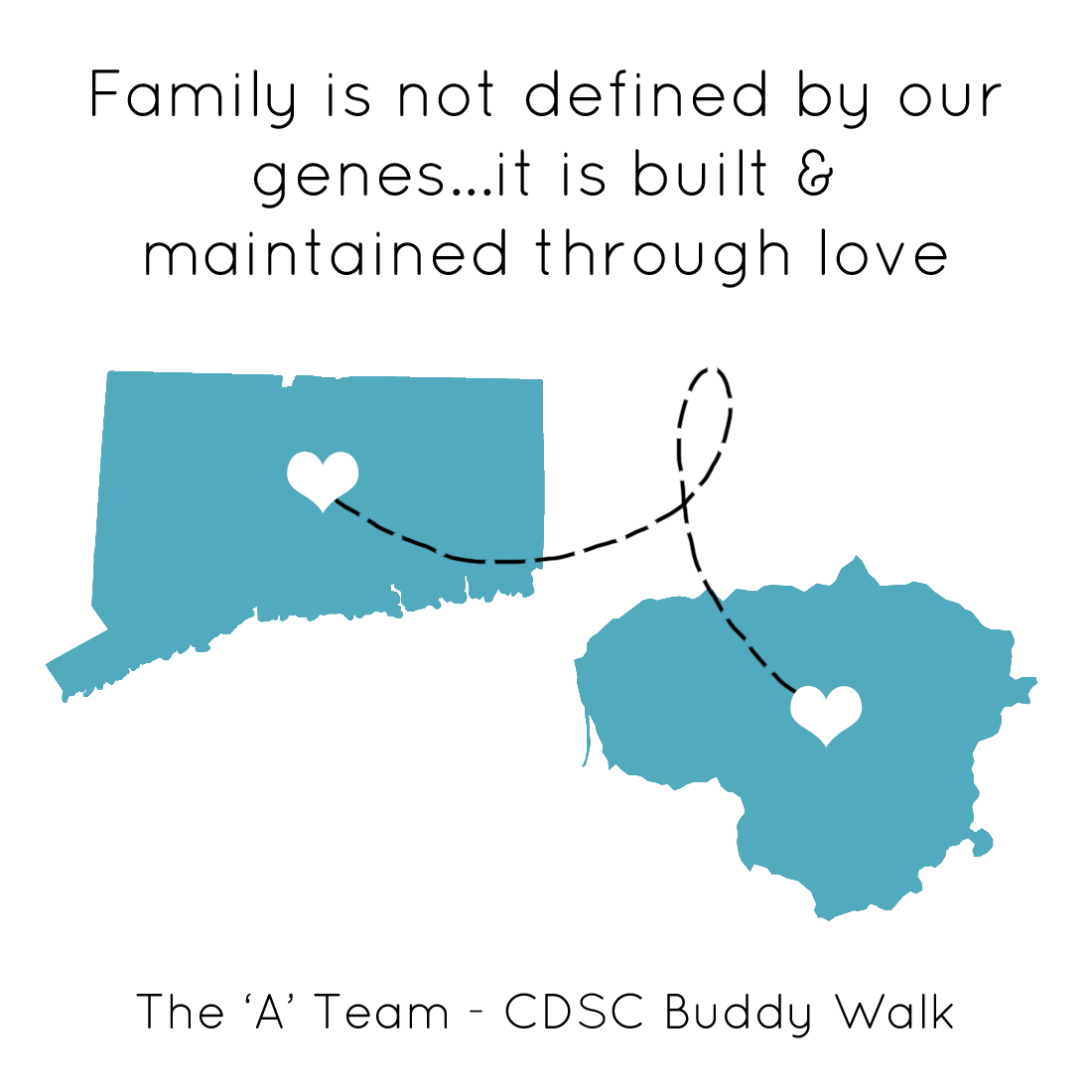CDSC Buddy Walk - A team