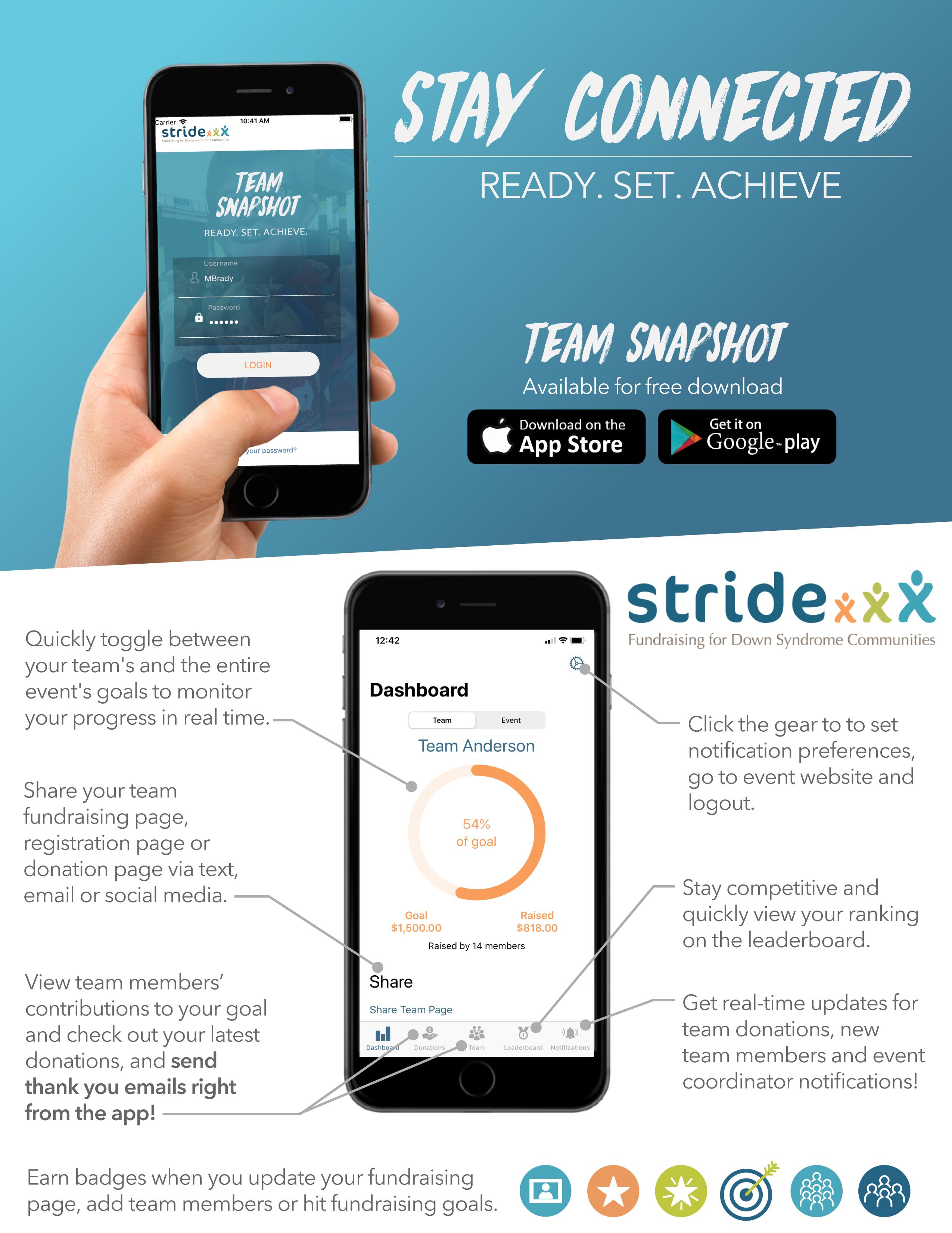Team Snapshot App